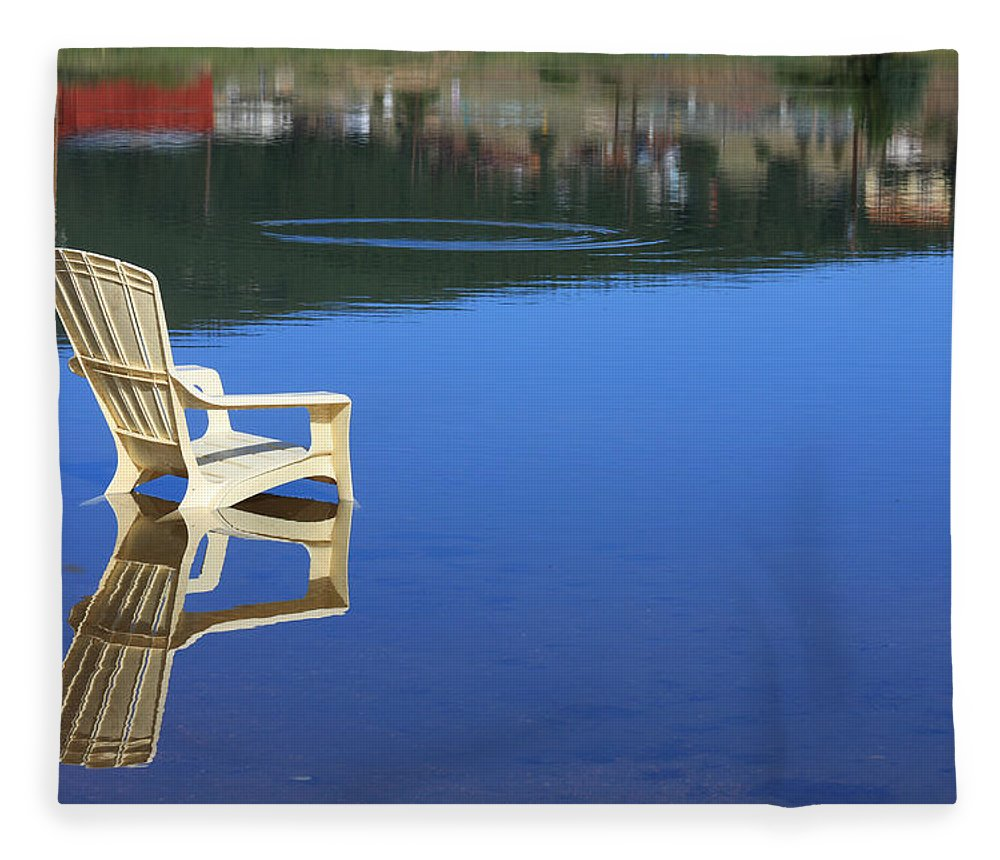 Water Fleece Blanket featuring the photograph Reflections Fine Art Photography Print by James BO Insogna