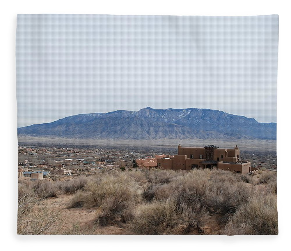 Mountians Fleece Blanket featuring the photograph Shoulda Coulda Woulda by Rob Hans