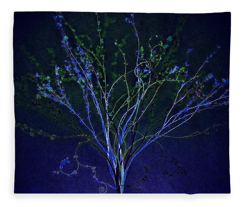 Augustine Fleece Blanket featuring the photograph Since Love Grows Within You by Nick Heap