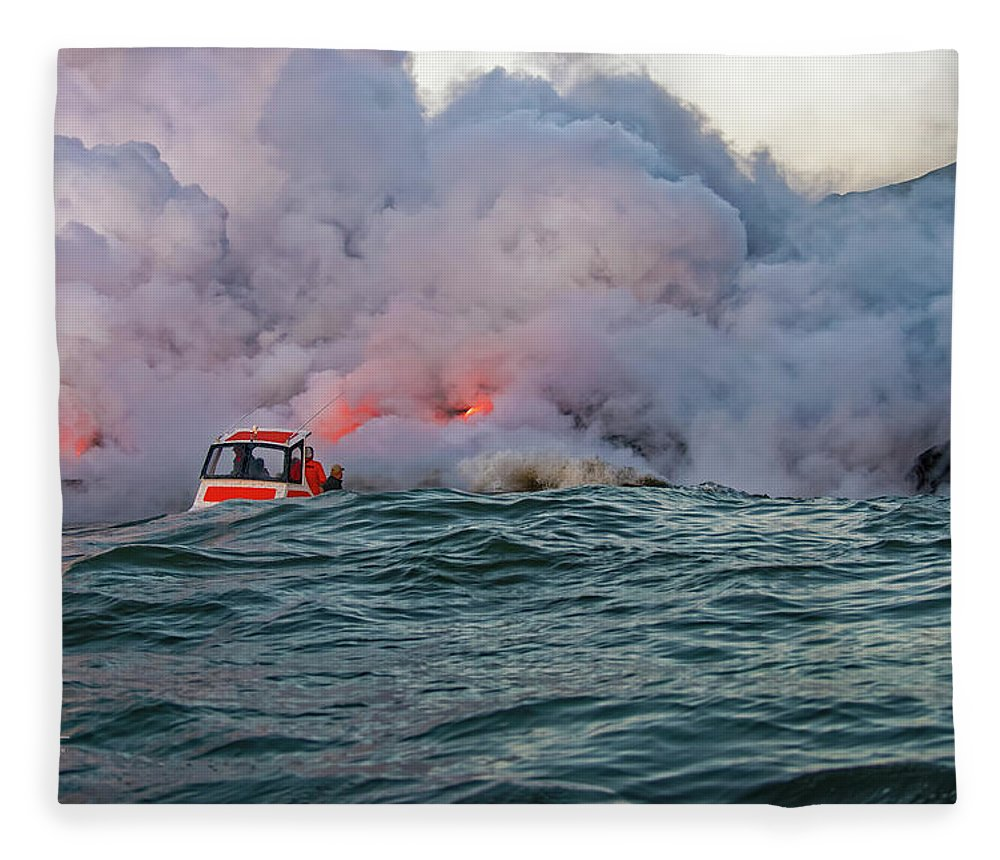 Hawaii Fleece Blanket featuring the photograph Six Pac by Jim Thompson