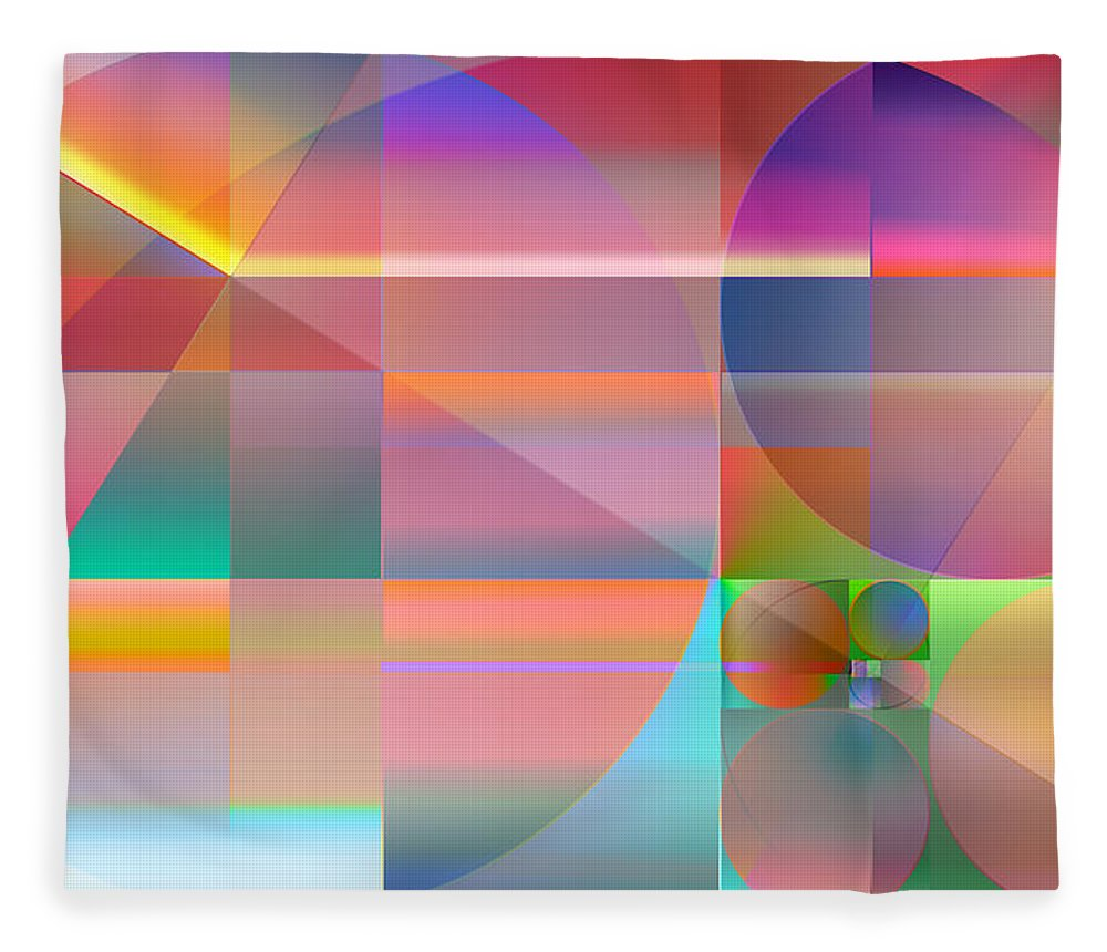�the Abstracts Plus� Collection By Serge Averbukh Fleece Blanket featuring the photograph The Principles Of Life by Serge Averbukh