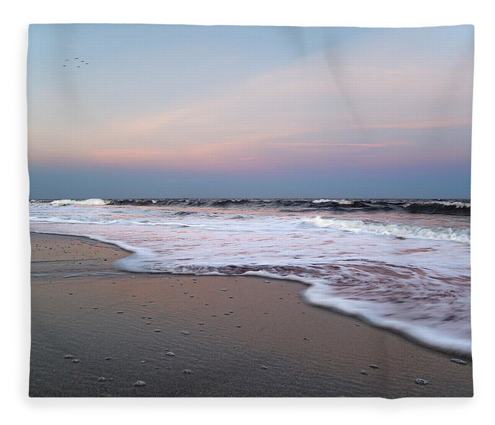 Topsail Fleece Blanket featuring the photograph Topsail Dome-esticated Evening by Betsy Knapp