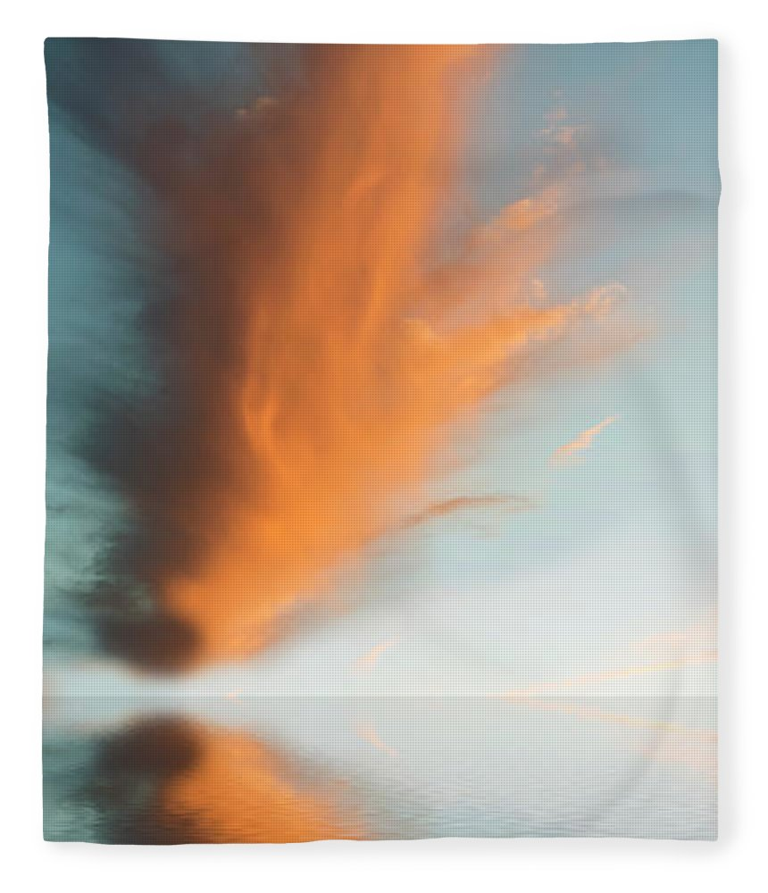 Original Art Fleece Blanket featuring the photograph Torch Of Freedom by Jerry McElroy