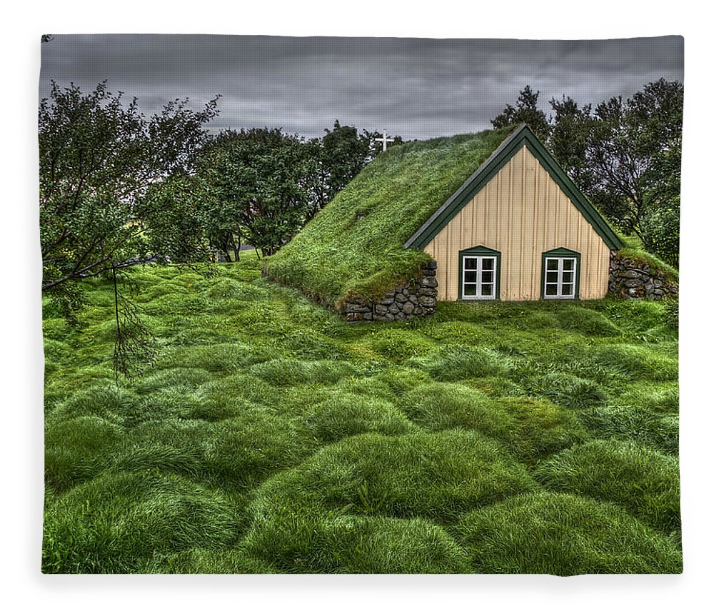 Hof Fleece Blanket featuring the photograph When Heaven Calls Your Name by Evelina Kremsdorf