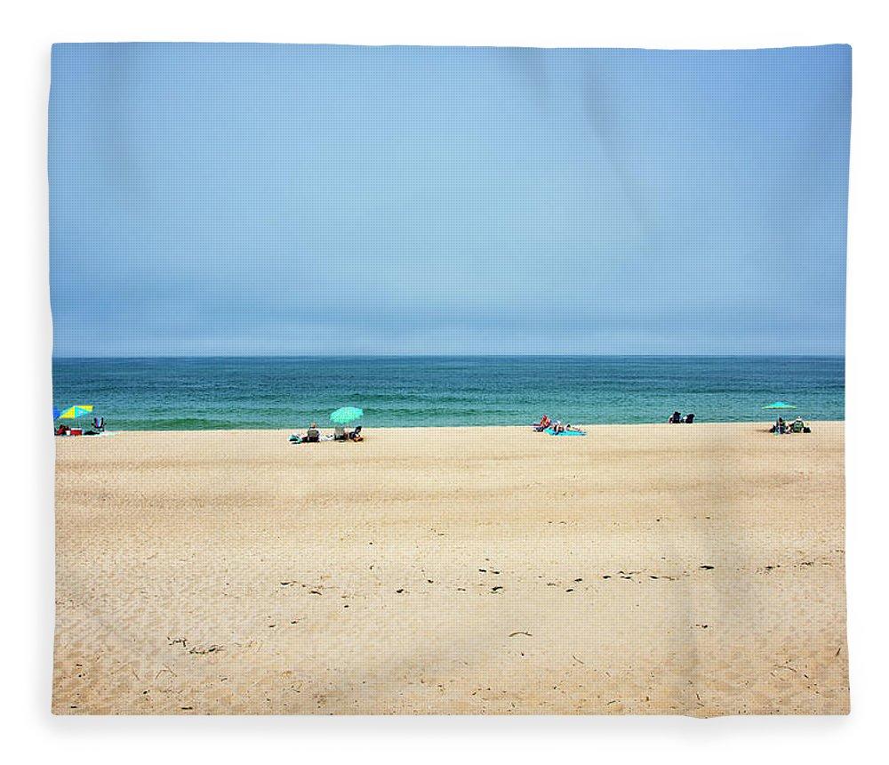 Ballston Beach Fleece Blanket featuring the photograph Ballston Beach - Truro Massachusetts by Brendan Reals