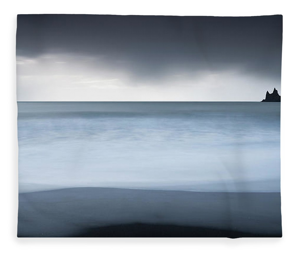 Scenics Fleece Blanket featuring the photograph Iceland by Jeremy Walker
