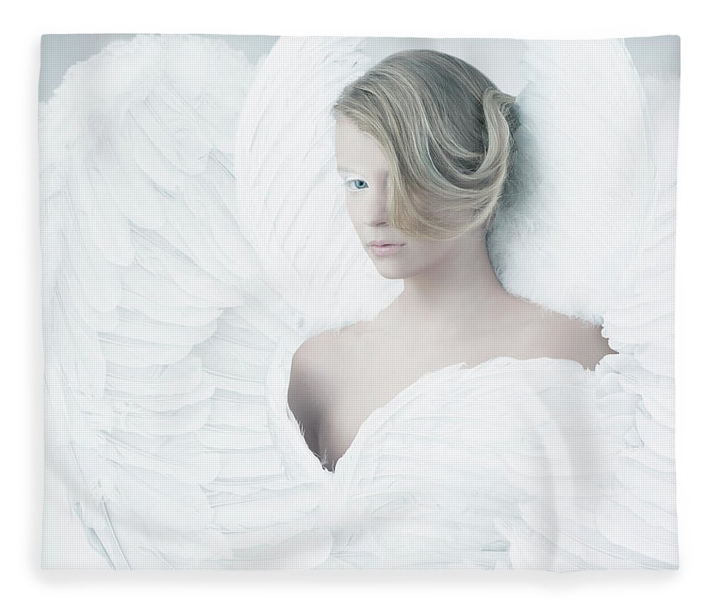 People Fleece Blanket featuring the photograph Angel by Colin Anderson
