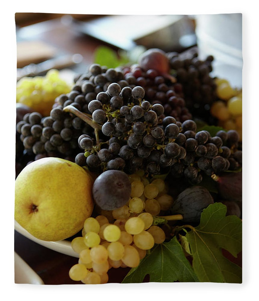 Healthy Eating Fleece Blanket featuring the photograph Assorted Fruit by James Baigrie