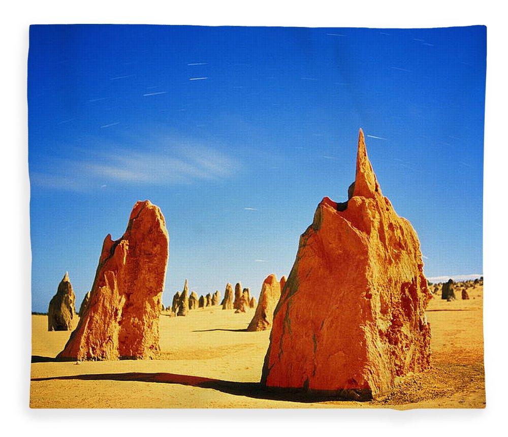 Scenics Fleece Blanket featuring the photograph Australia, Western Australia by Paul Souders