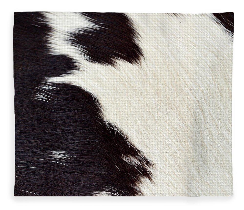 Animal Skin Fleece Blanket featuring the photograph Designer Fur by Digiclicks