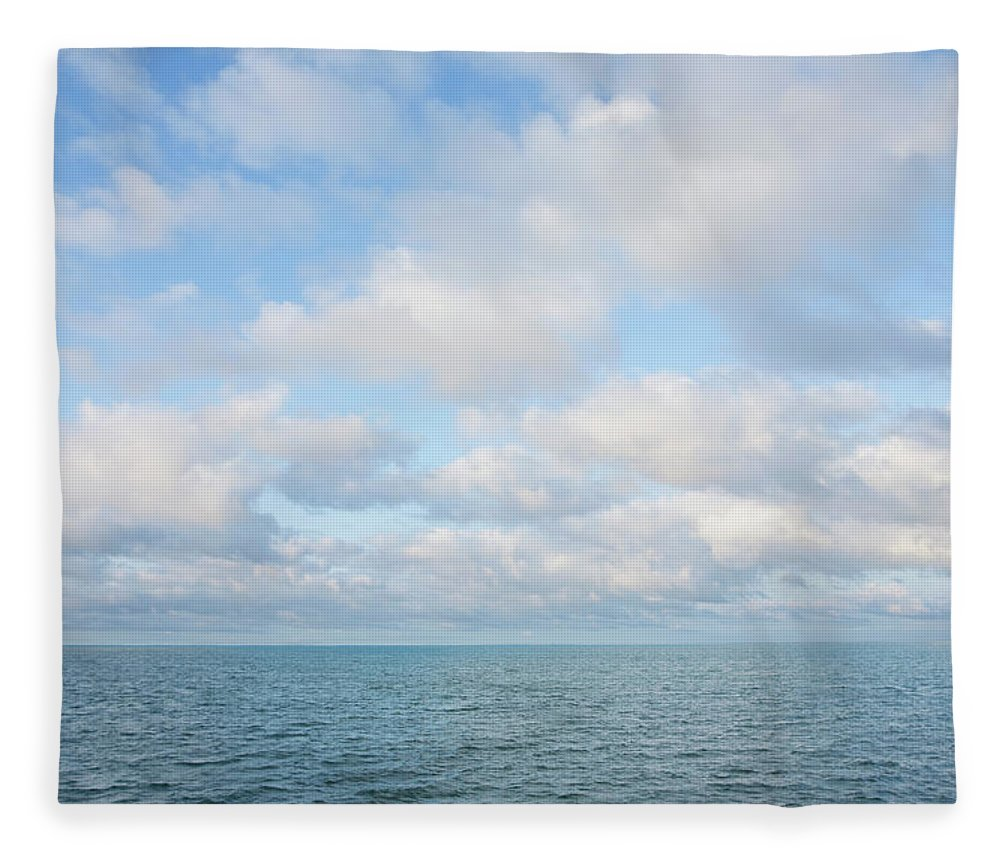 Tranquility Fleece Blanket featuring the photograph Early Morning, Nantucket Sound by Nine Ok
