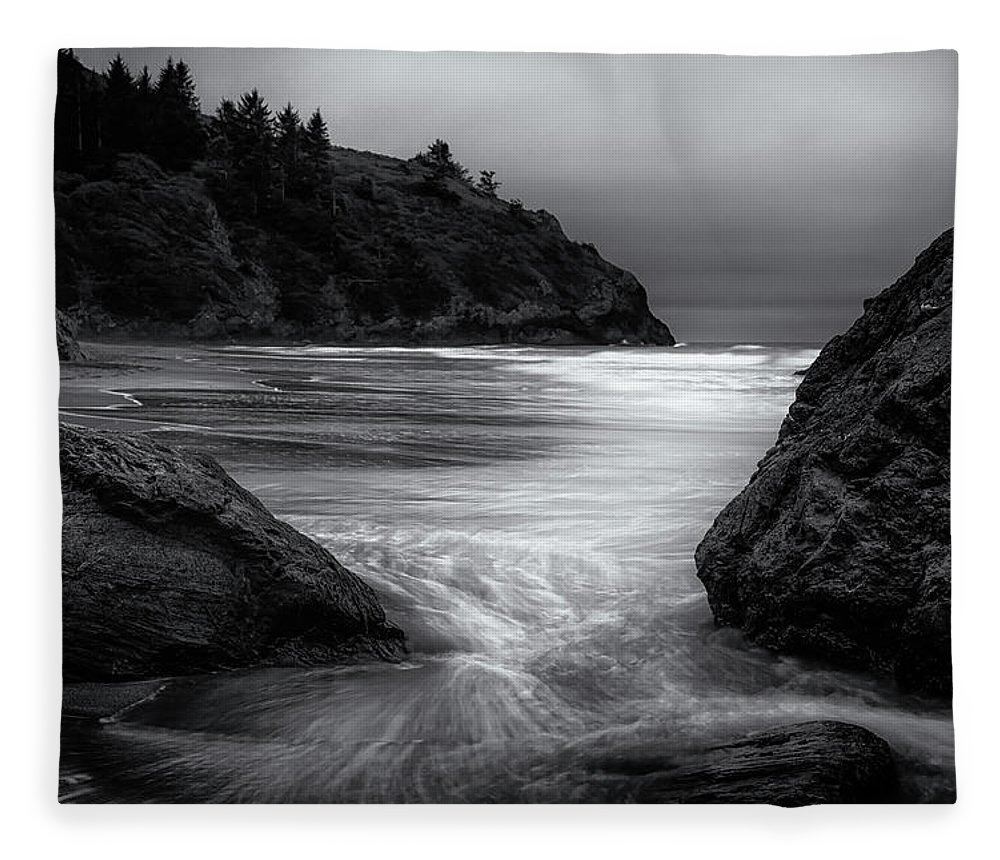 California Fleece Blanket featuring the photograph Finding My Way by Marnie Patchett