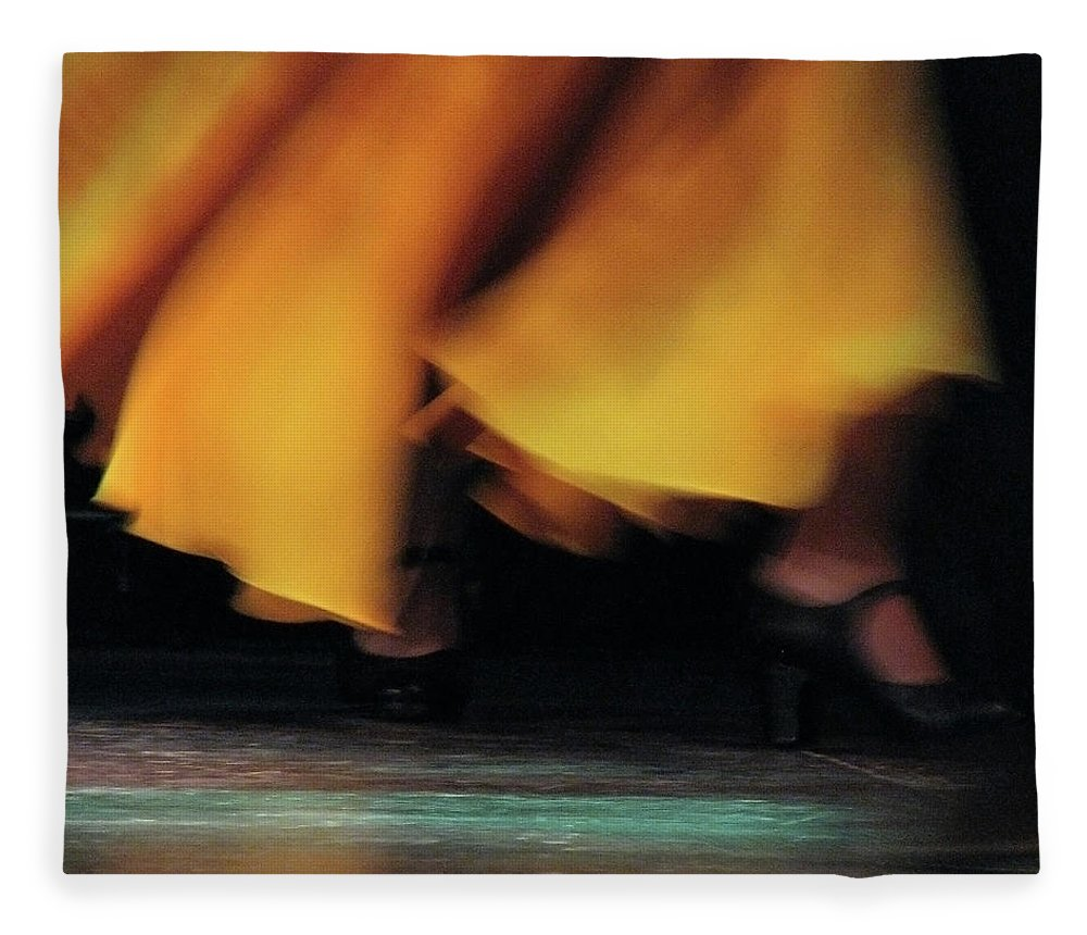 Event Fleece Blanket featuring the photograph Flemenco by By Eugene Lee