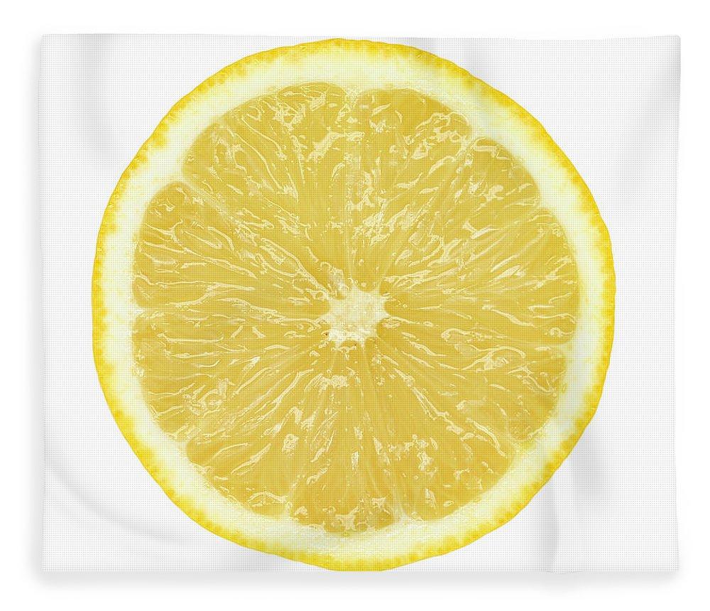 Limon Province Fleece Blanket featuring the photograph Lemon by Suzifoo