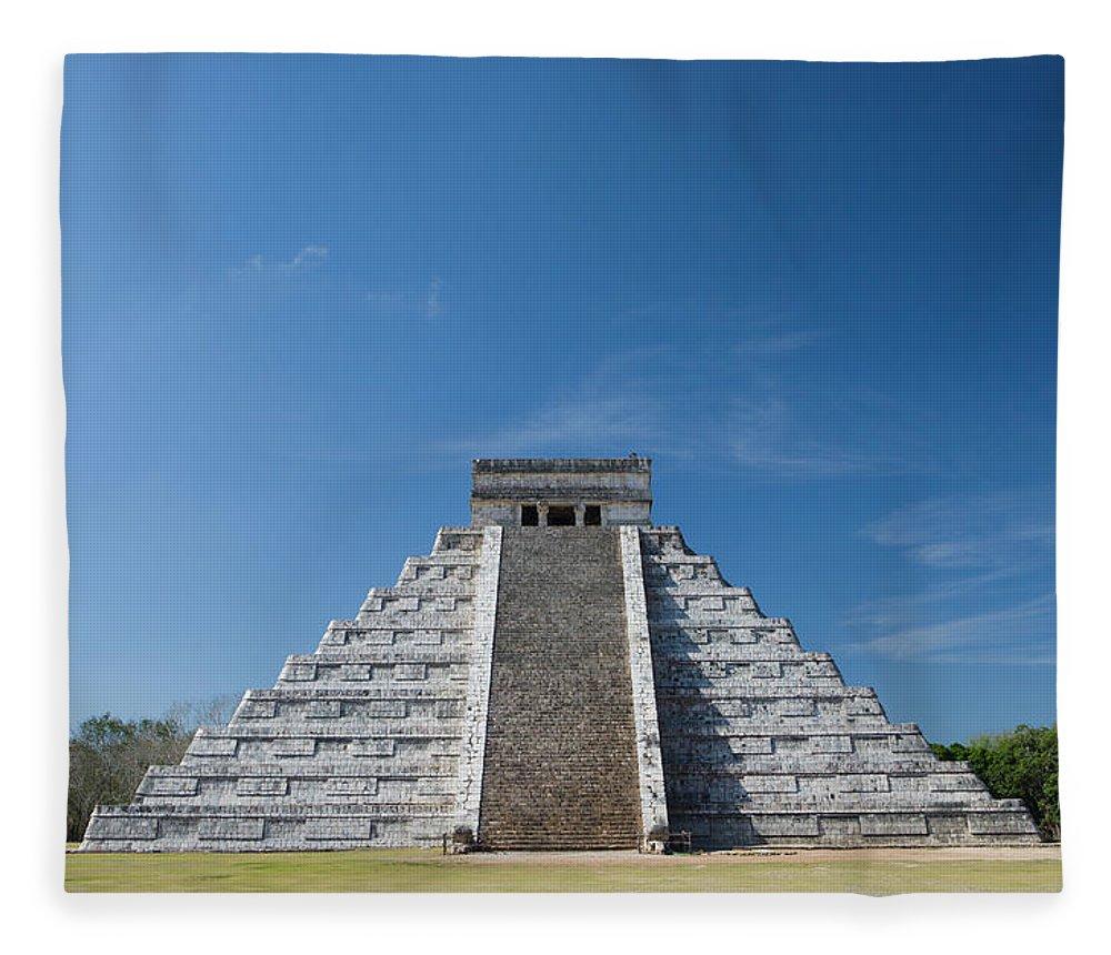 Latin America Fleece Blanket featuring the photograph Mexico, Yucatan Peninsula, Yucatan by Adam Crowley