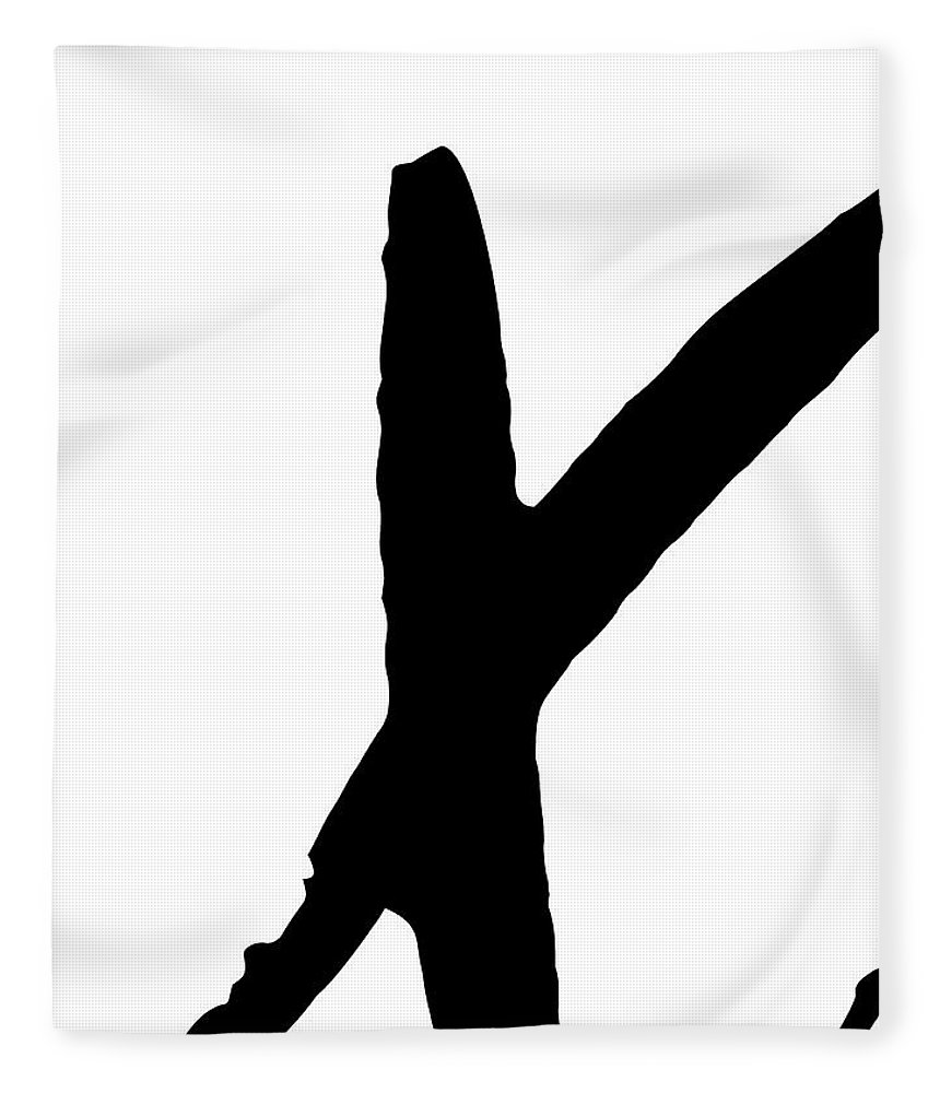 Valentines Fleece Blanket featuring the digital art Modern X's And O's I by Sd Graphics Studio