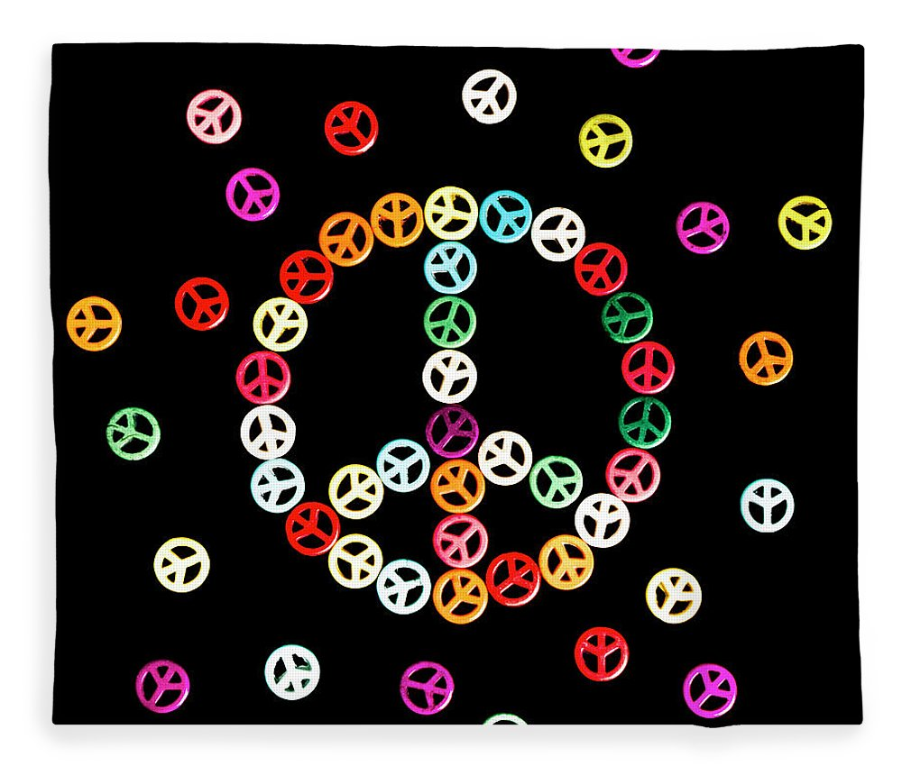 Hippie Fleece Blanket featuring the photograph Movement Of Unity by Jorgo Photography - Wall Art Gallery