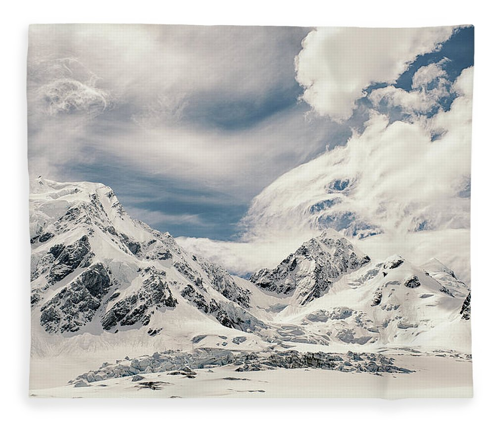 Tranquility Fleece Blanket featuring the photograph Nz Landscapes by Devon Strong