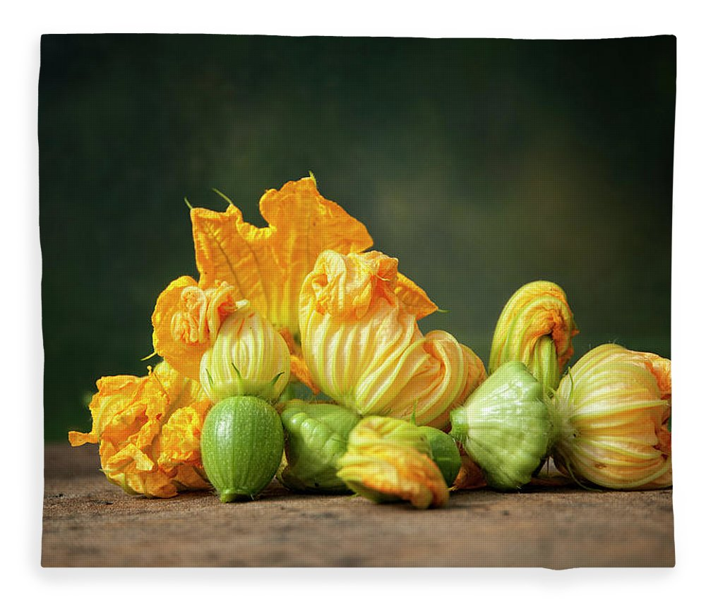 Healthy Eating Fleece Blanket featuring the photograph Patty Pans by Jojo1 Photography