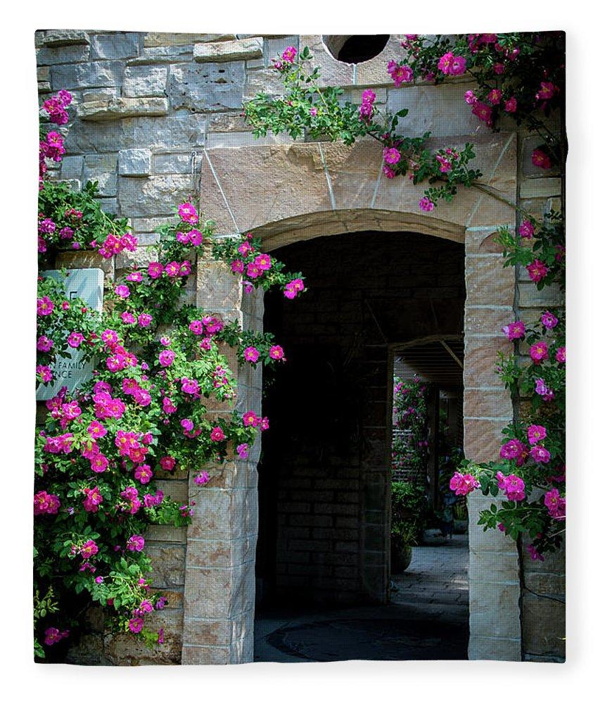 Outdoors Fleece Blanket featuring the photograph Pink Splendor by Deborah Klubertanz