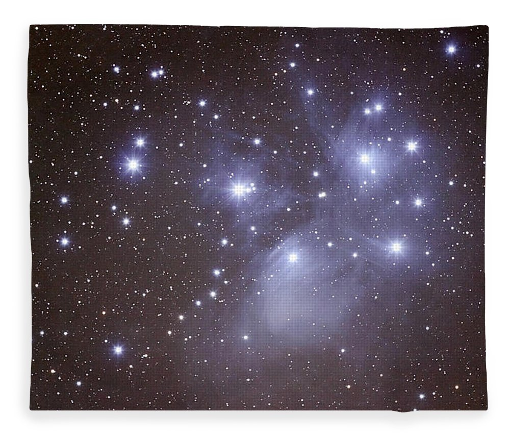 Majestic Fleece Blanket featuring the photograph Pleides by Pat Gaines