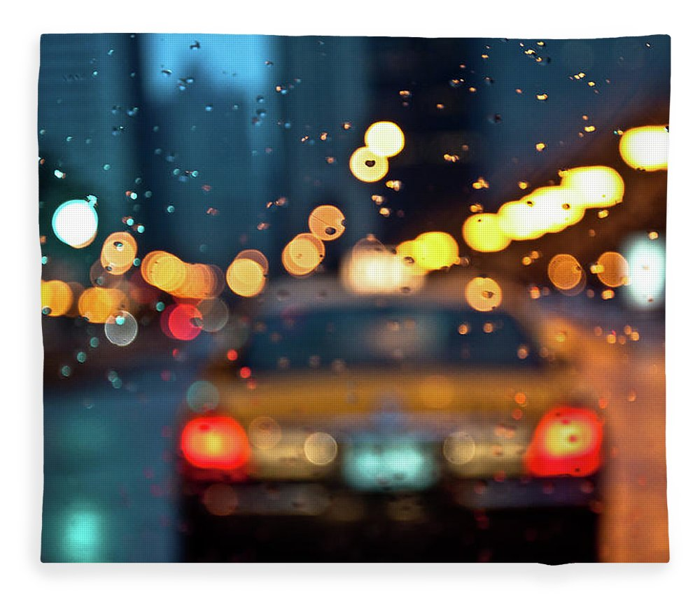 Car Interior Fleece Blanket featuring the photograph Raw, Wet & Cold by Romeo Banias