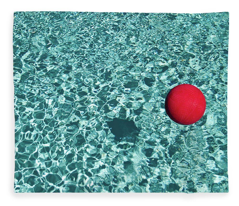 Ball Fleece Blanket featuring the photograph Reflection by Mark A Paulda