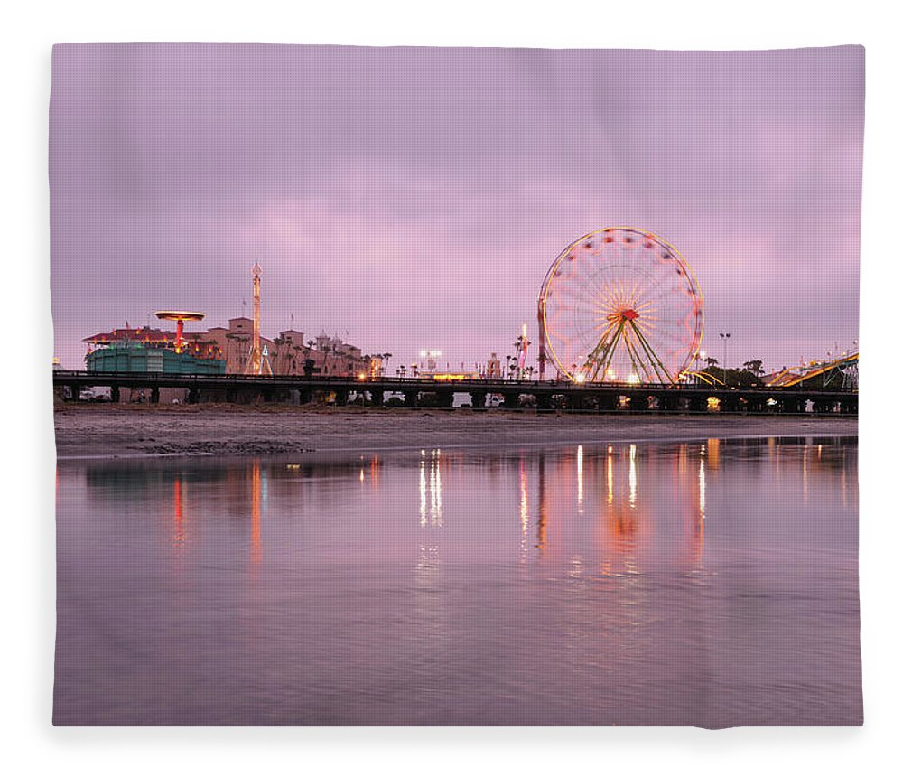 Southern California Fleece Blanket featuring the photograph San Diego County Fair by Paule858