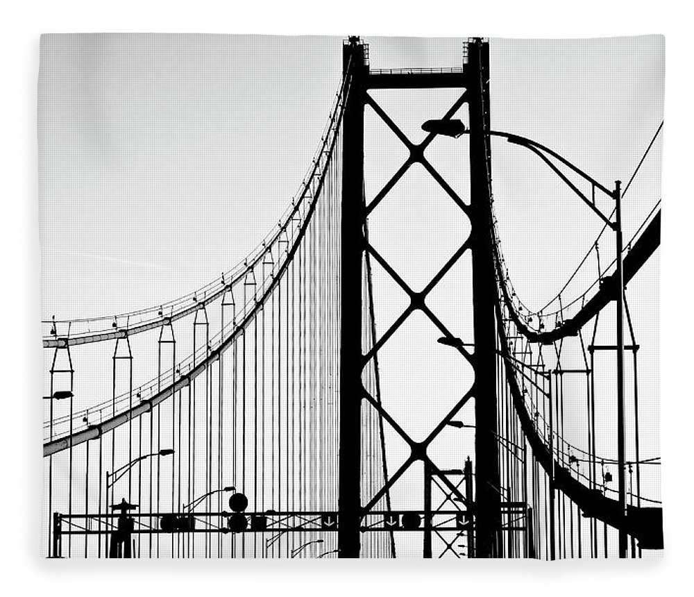 Pole Fleece Blanket featuring the photograph San Francisco by Znz
