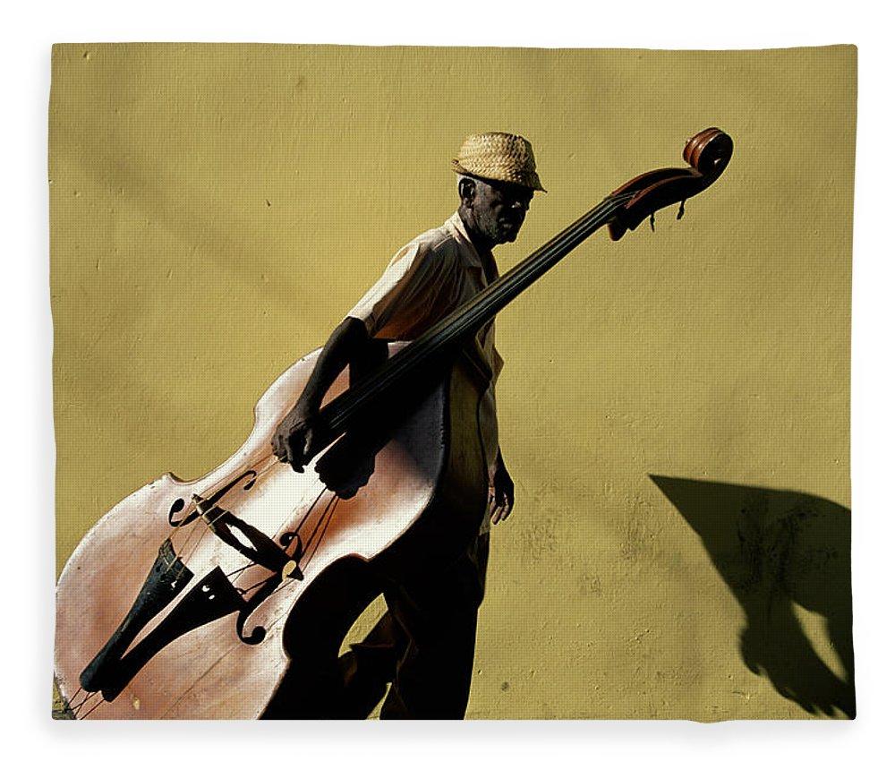 One Man Only Fleece Blanket featuring the photograph Santiago De Cuba, Cuba by Buena Vista Images
