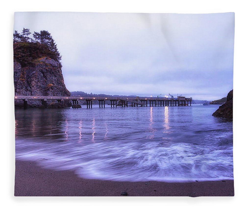 California Fleece Blanket featuring the photograph Soaking It All In by Marnie Patchett