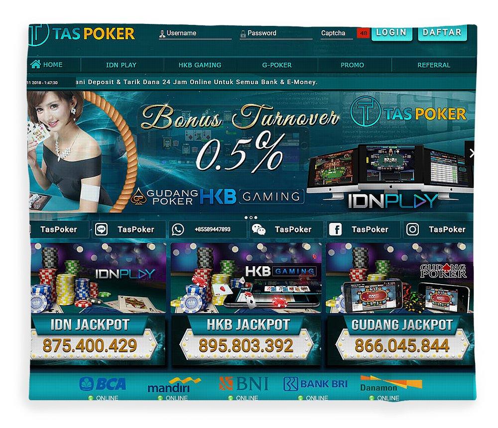 Taspoker Situs Poker Online Bank Bca 24 Jam Indonesia Fleece Blanket For Sale By Tas Poker