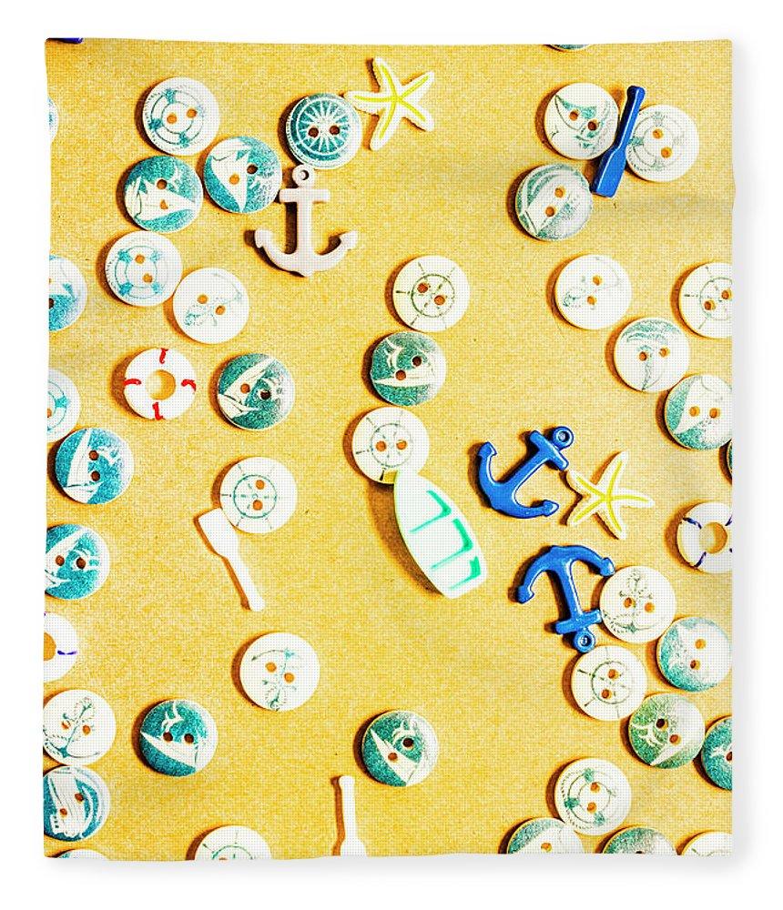 Beach Fleece Blanket featuring the photograph Tiny Tropics by Jorgo Photography - Wall Art Gallery