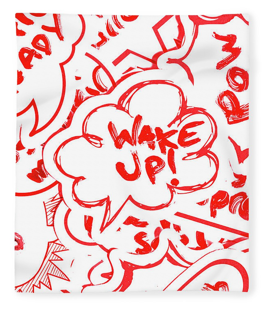 Wake Up Fleece Blanket featuring the photograph Wake Up by Jorgo Photography - Wall Art Gallery