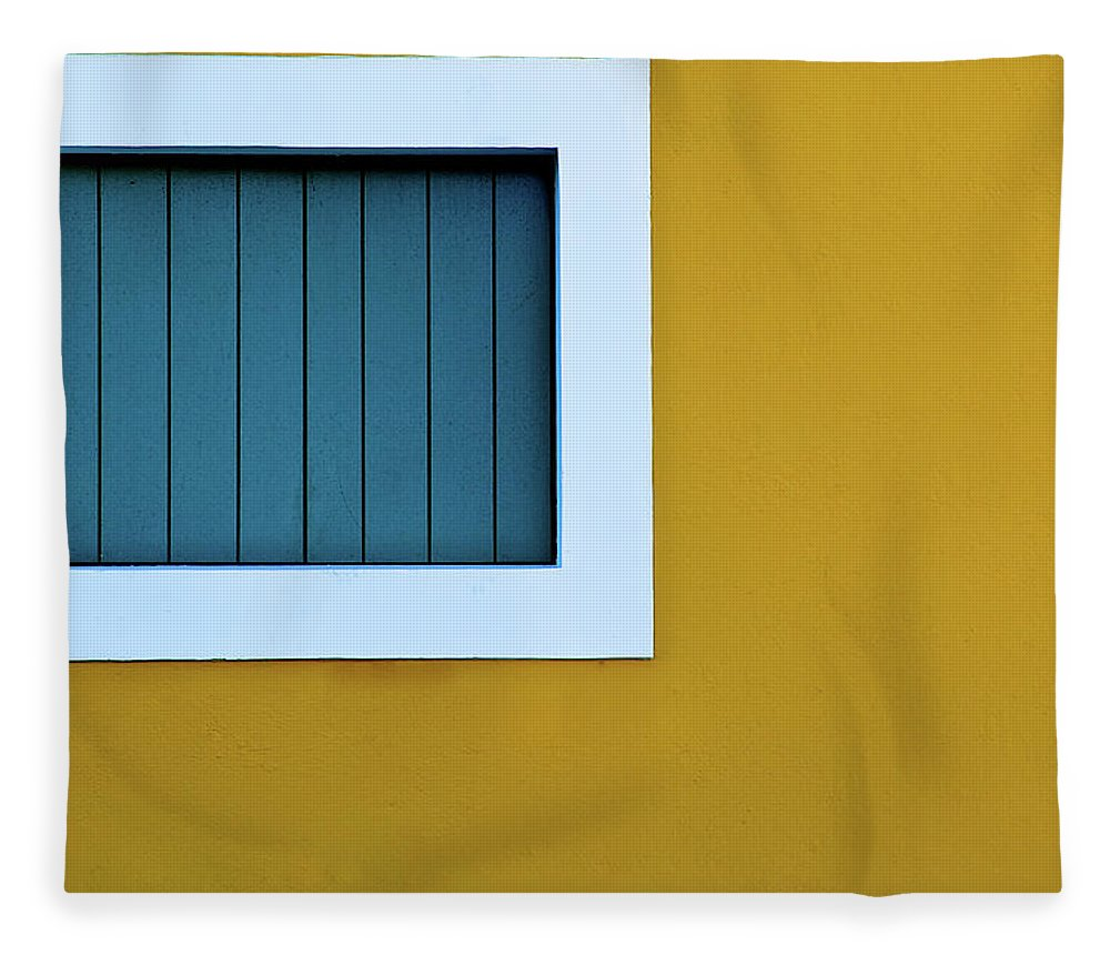 Outdoors Fleece Blanket featuring the photograph Window by L F Ramos-reyes
