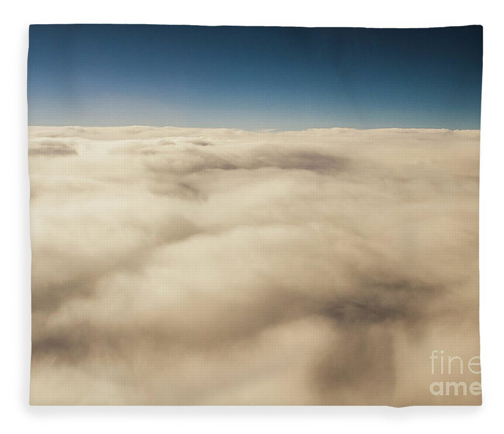 Cloud Fleece Blanket featuring the photograph Wispy Heavens by Jorgo Photography - Wall Art Gallery