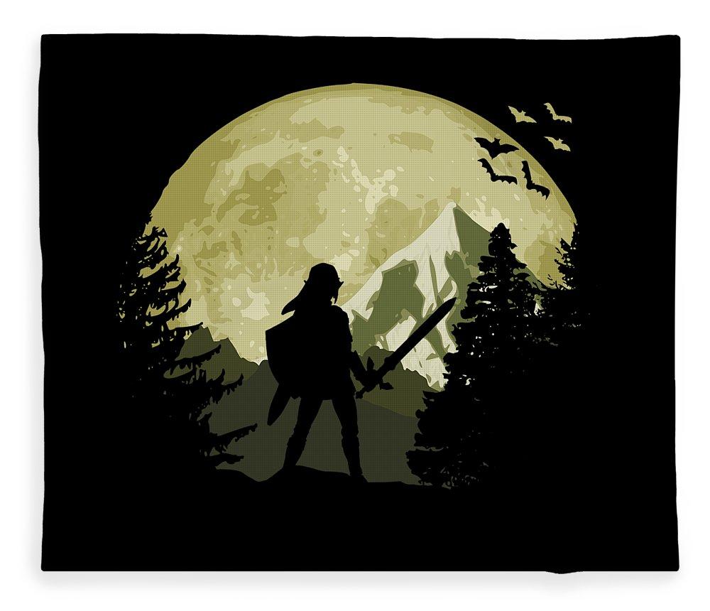 Zelda Fleece Blanket featuring the digital art Zelda by Filip Hellman