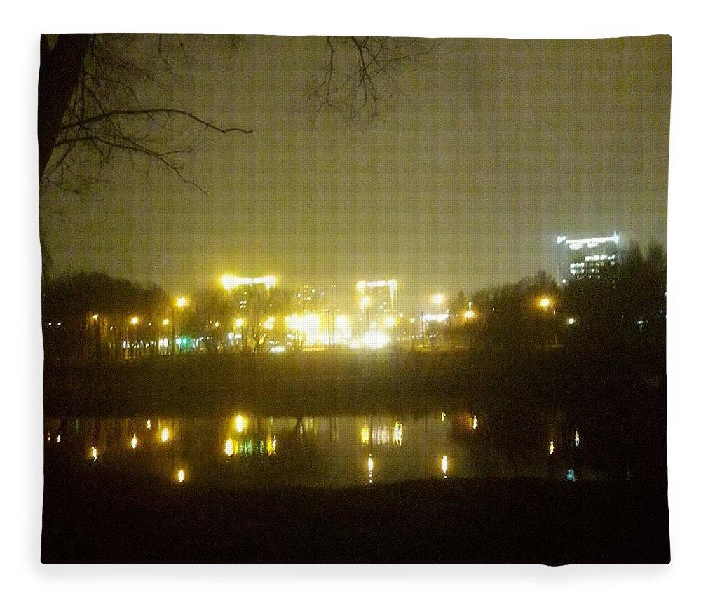 Photo Fleece Blanket featuring the photograph Dazzling by Natallia Miskaya