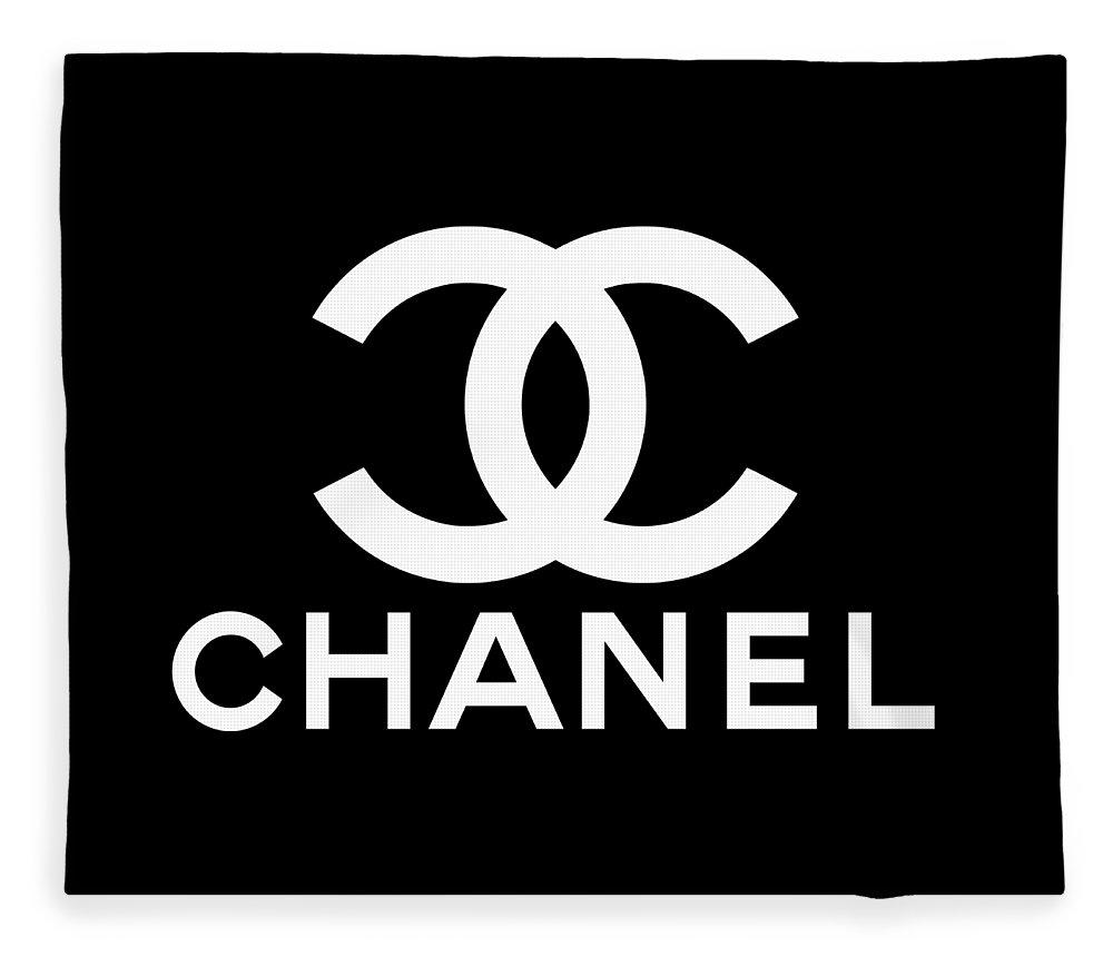 Burberry Fleece Blanket featuring the digital art Chanel by Carmela Fleck