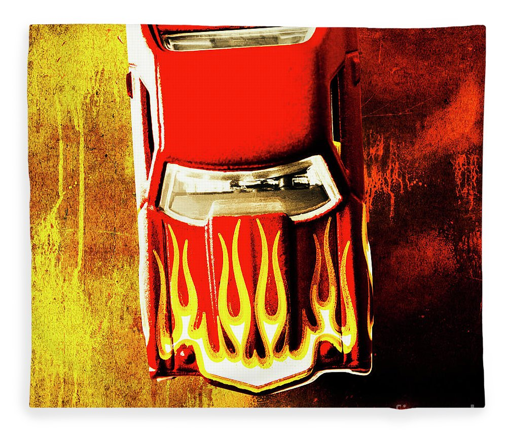 El Camino Fleece Blanket featuring the photograph Hot Stuff by Jorgo Photography - Wall Art Gallery