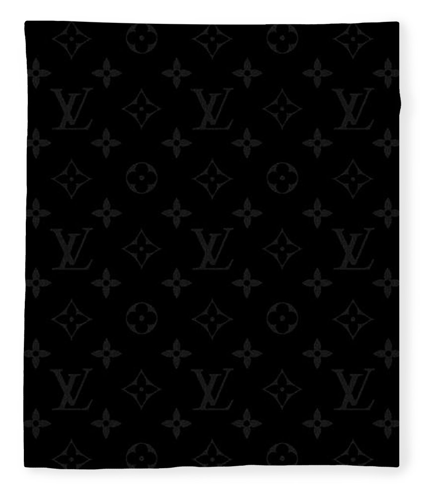 Louis Vuitton Fleece Blanket featuring the tapestry - textile Night Monogram by Louis Vuitton
