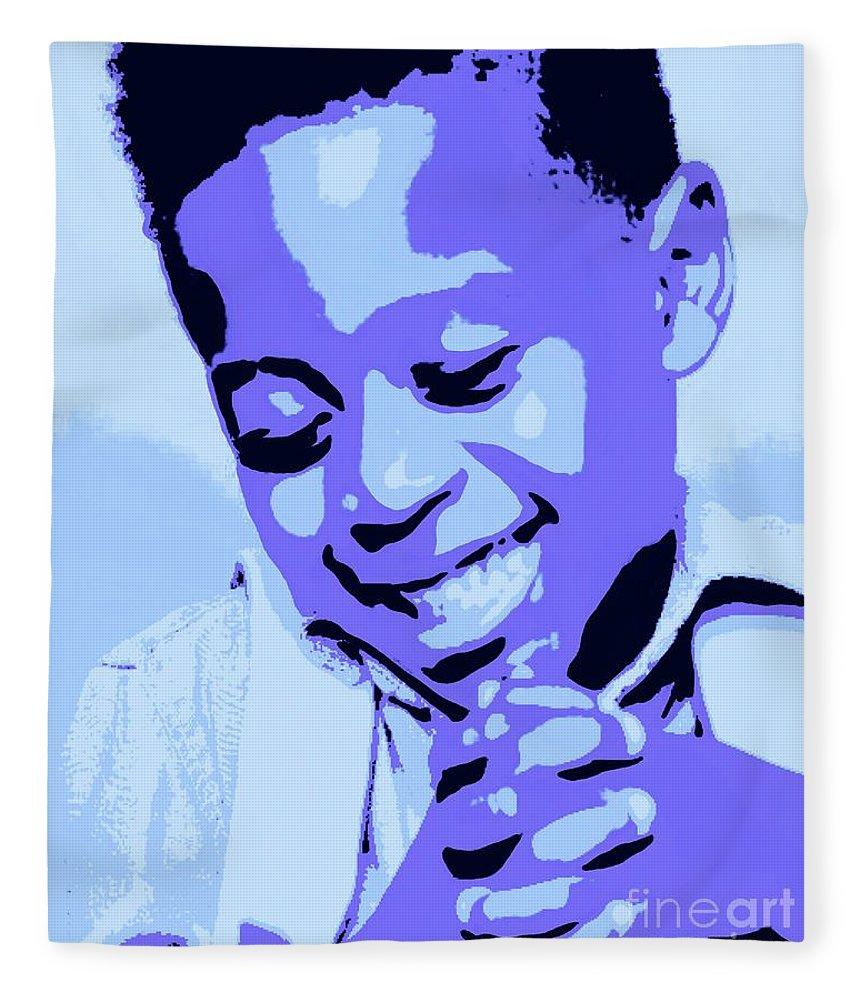 Pray Fleece Blanket featuring the painting Precious Prayers by Jack Bunds