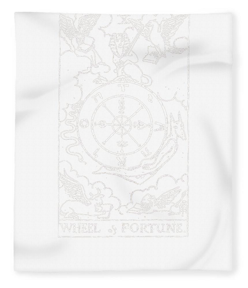 Tarot Card Blanket Ouija Blanket Sun Moon Face Throw Blanket Occult Blanket