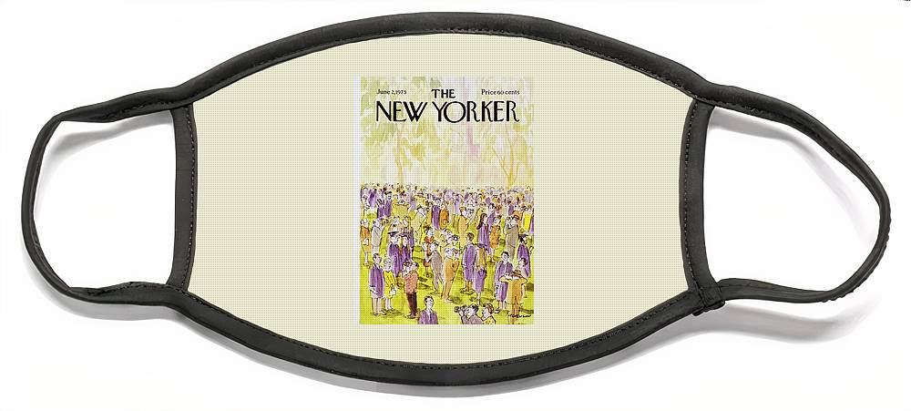 New Yorker June 2nd 1975 Face Mask