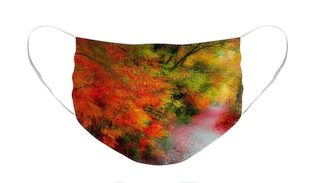 Autumn Face Mask featuring the photograph Autumn Splendor by Tara Turner