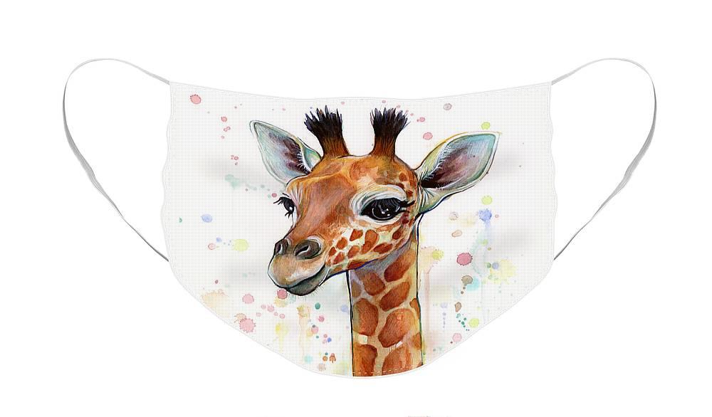 Giraffe Face Masks