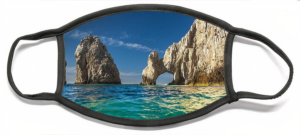 Los Cabos Face Mask featuring the photograph Cabo San Lucas by Sebastian Musial