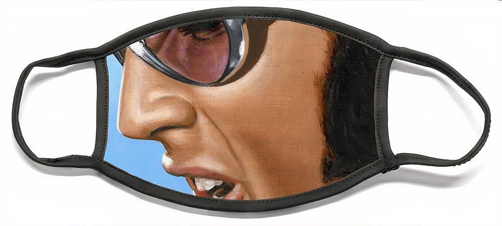 Elvis Face Masks
