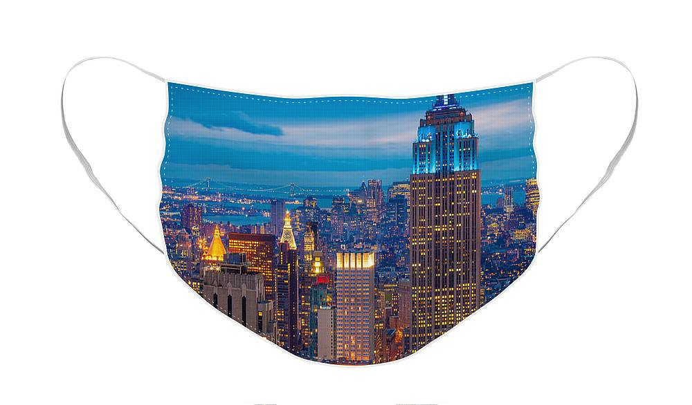 Skyscrapers Face Masks