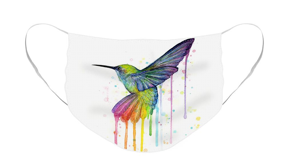 Hummingbird Face Masks